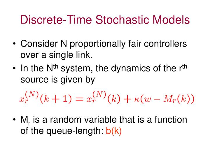 Discrete-Time Stochastic Models