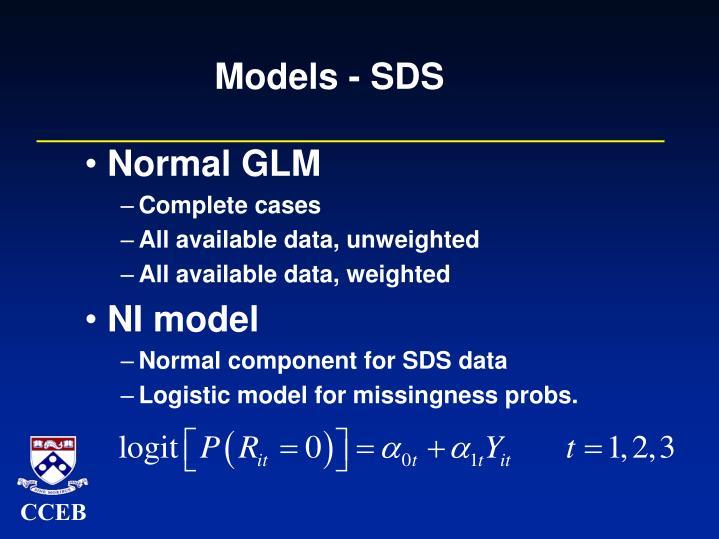 Models - SDS
