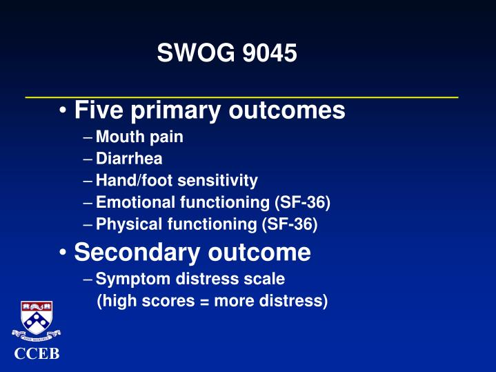 SWOG 9045