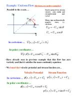 example uniform flow revision see earlier examples