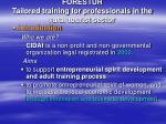 forestur tailored training for professionals in the rural tourist sector