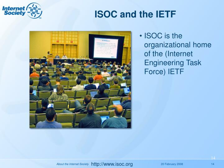 ISOC and the IETF