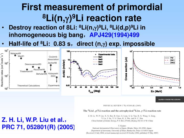 First measurement of primordial