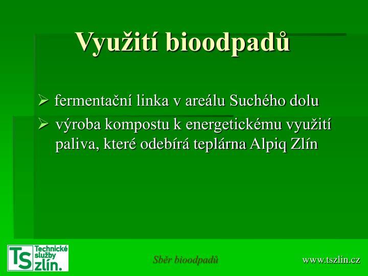Využití bioodpadů