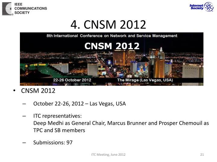 4. CNSM 2012