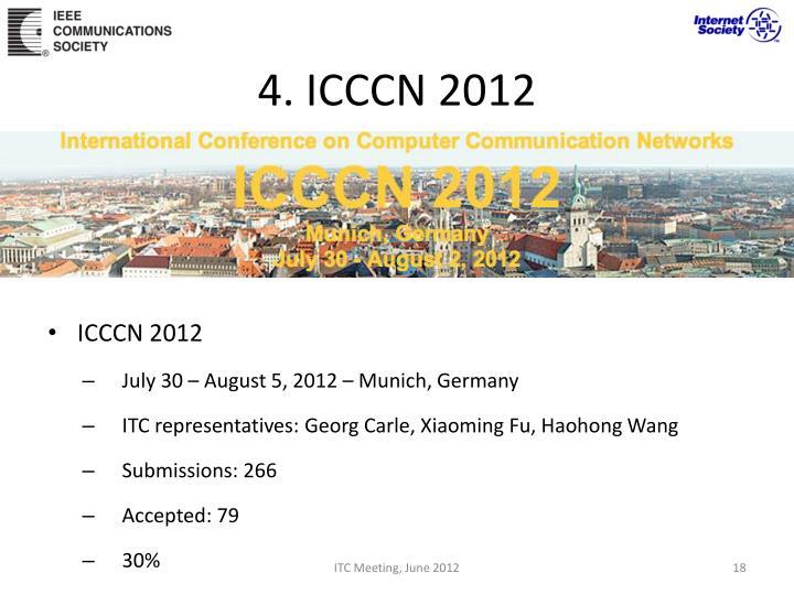 4. ICCCN 2012