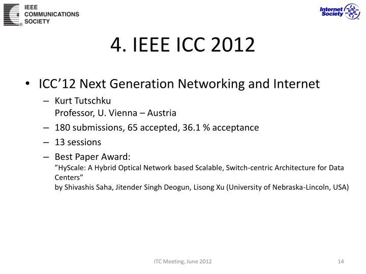 4. IEEE ICC 2012