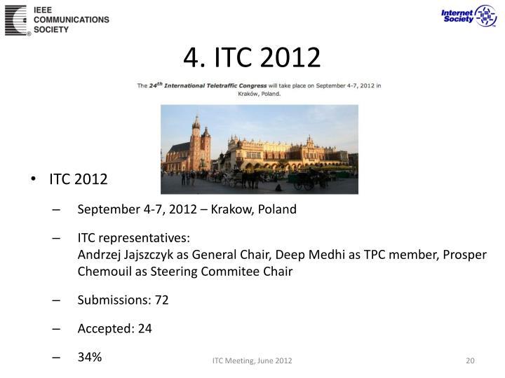 4. ITC 2012