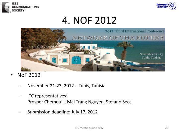 4. NOF 2012