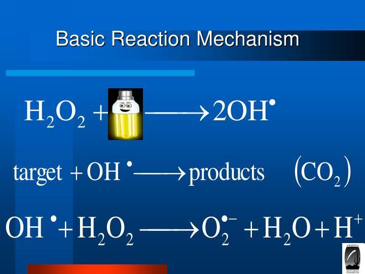 Basic Reaction Mechanism