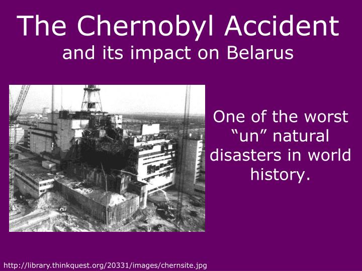 the reasons of chernobyl accident Chernobyl disaster: chernobyl disaster, an accident at the chernobyl nuclear power station in the soviet union in 1986, the worst disaster in nuclear power generation history.