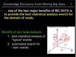 knowledge discovery from mining big data 1 22