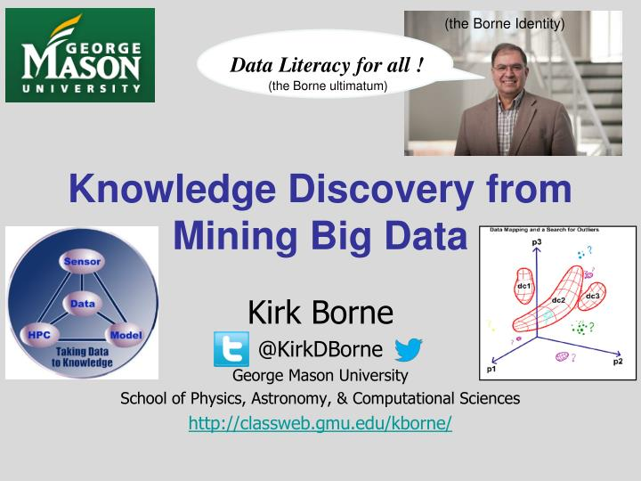 knowledge discovery from mining big data n.
