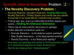 scientific data to knowledge problem 1 2 34