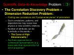 scientific data to knowledge problem 12 3 4
