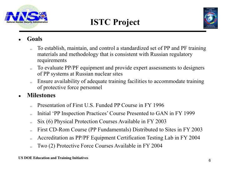 ISTC Project