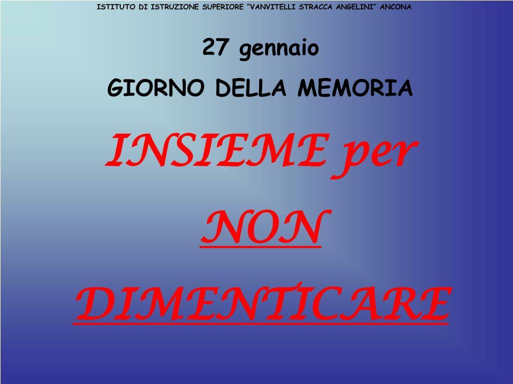 """PPT - ISTITUTO DI ISTRUZIONE SUPERIORE """"VANVITELLI STRACCA ..."""