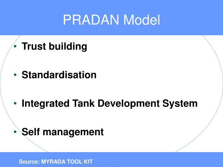 PRADAN Model