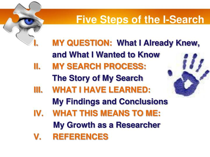 Five Steps of the I-Search