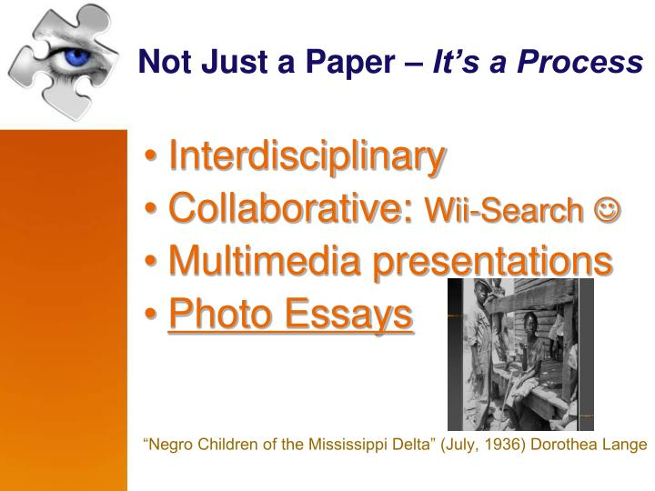 Not Just a Paper –