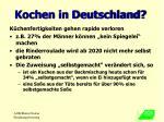 kochen in deutschland