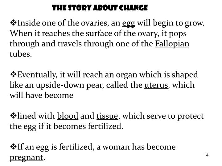 The Story About Change