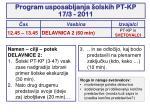 program usposabljanja olskih pt kp 17 3 20113