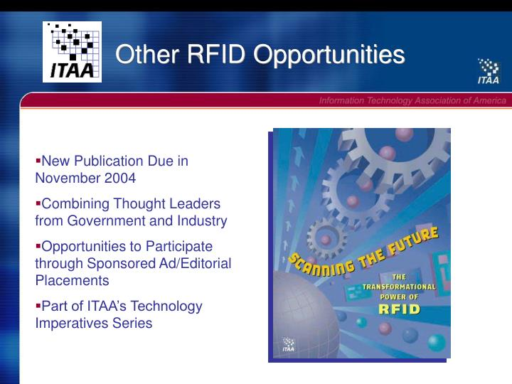 Other RFID Opportunities