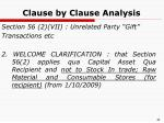 clause by clause analysis17