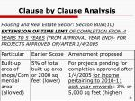 clause by clause analysis23