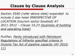 clause by clause analysis5