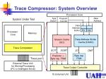trace compressor system overview