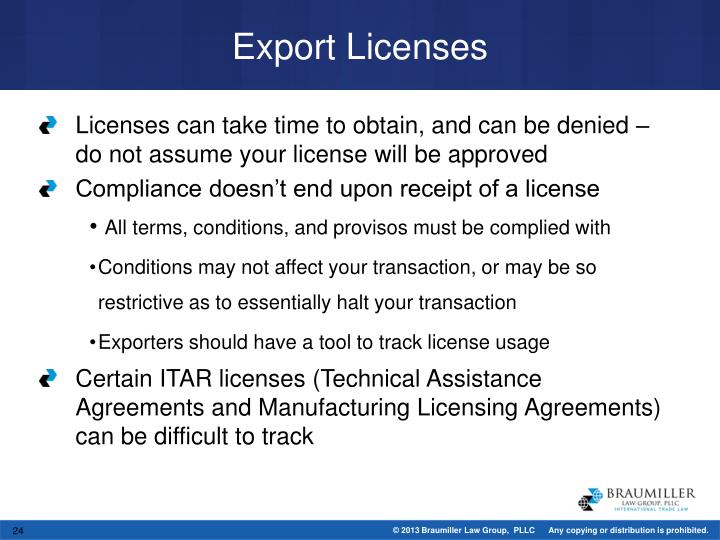 Ppt what keeps you up at night mitigating trade compliance and export licenses platinumwayz