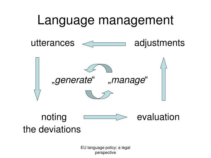 Language m