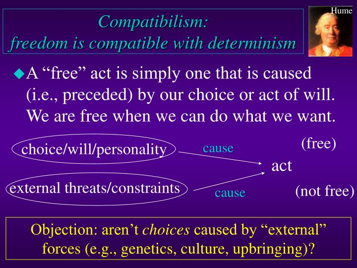 an essay on free will and determinism I determinism before one can properly evaluate the entire debate that enshrouds the free will/determinism, each term must have a meaning, but before we explore the meaning of each term, we must give a general definition.