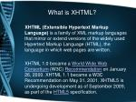what is xhtml