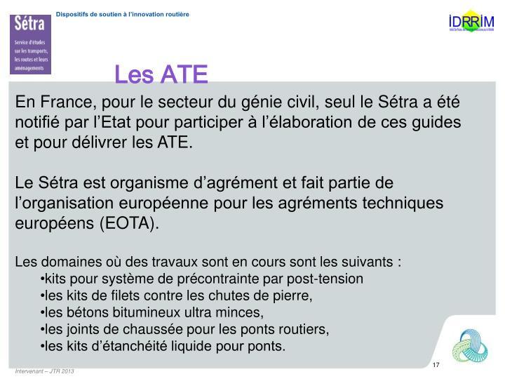 Les ATE