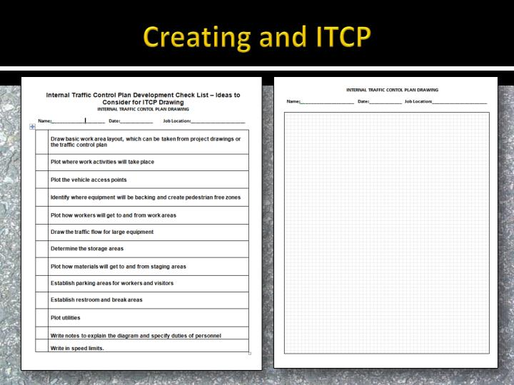 Creating and ITCP