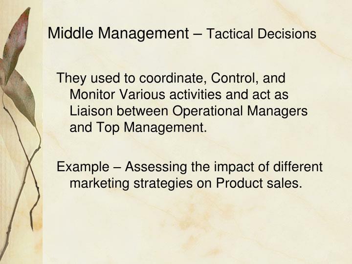 Middle Management –