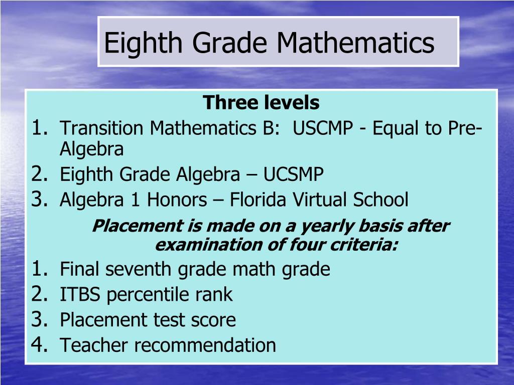 PPT - St  Paul Catholic School Middle School Information