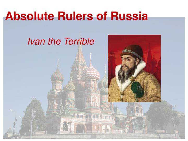 the rule of ivan iv