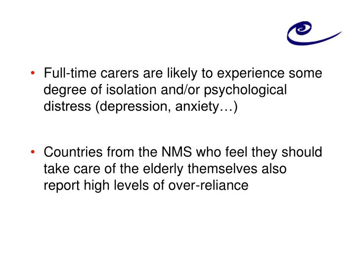 Full-time carers