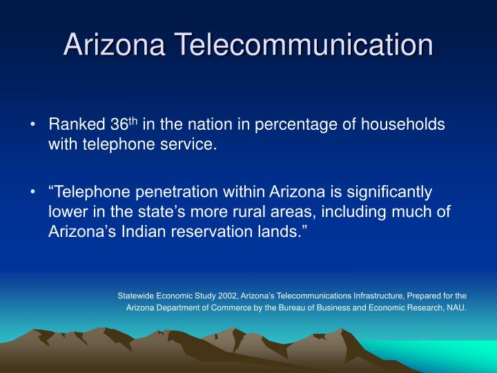 Arizona telecommunication