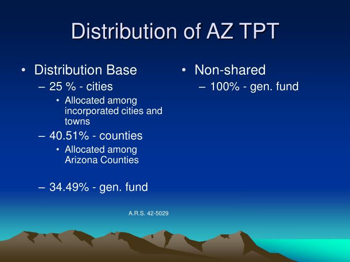 Distribution Base