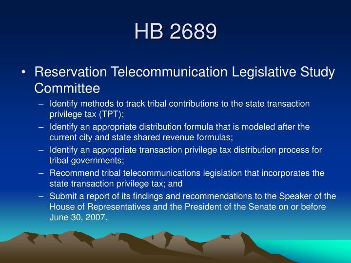 HB 2689