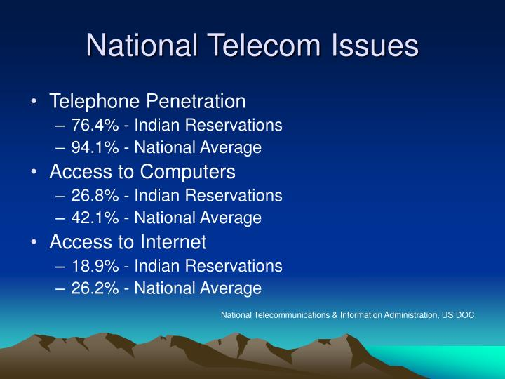 National telecom issues