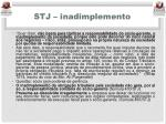 stj inadimplemento