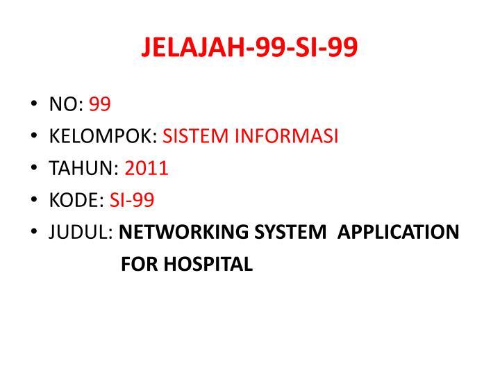 JELAJAH-99-SI-99