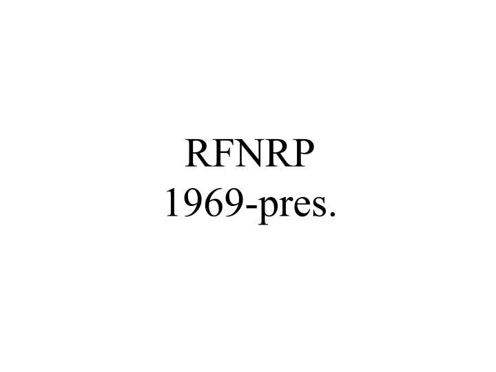 RFNRP