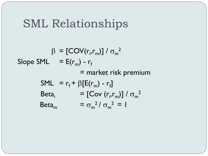 SML Relationships